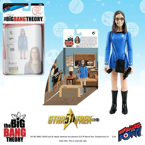 Bif Bang Pow Big Bang Theory Amy Farrah Fowler Star Trek Figure